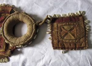 Mystery piece of ethnic embroidered headgear