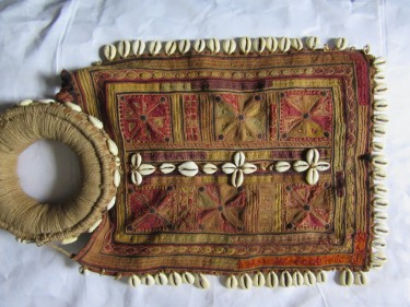 Mystery piece of ethnic embroidered headgear (8)
