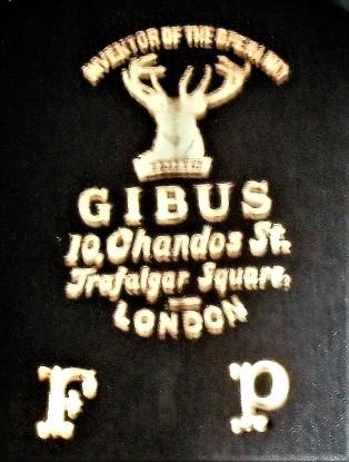 GIBUS 1 LABEL BOX 29 P-1-53