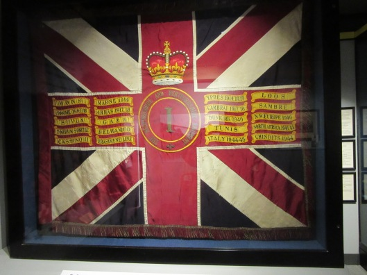 Beds & Herts Regimental flag